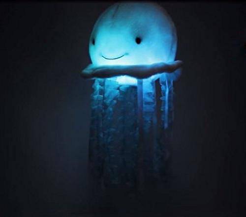 Cuddle The Jellyfish Musical Animal, Toy Attaches to Mobile has Soft Illuminating and Ocean Melody to Baby Sleep