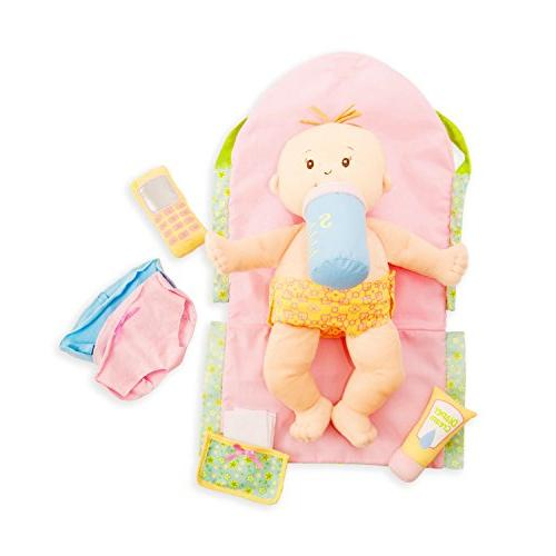 """Manhattan Toy Darling Baby Diaper Bag and 15"""""""