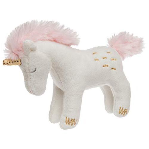 Mary Meyer E8 Twilight Baby Unicorn Rattle Plush Toy 5in 430