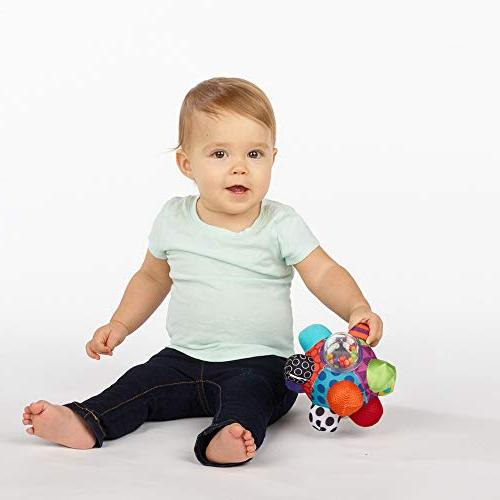 Sassy Developmental Ball 6+ Colors, Bold Patterns, Easy Bumps To Help Motor
