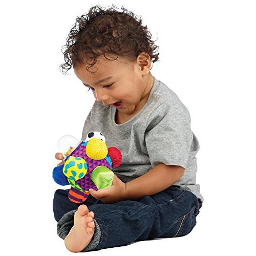Sassy 6+ Colors, Bold Easy To Bumps To Baby's Motor Skills