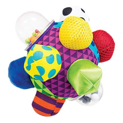 Sassy Developmental Bumpy 6+ Colors, To Help Developing Baby's Motor Skills