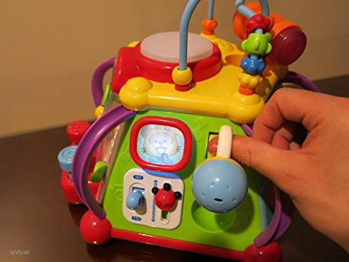 WolVol Educational Baby Musical Cube Play Lights, and and Development