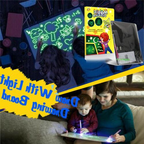 A5 Light Fun Board Educational Toy