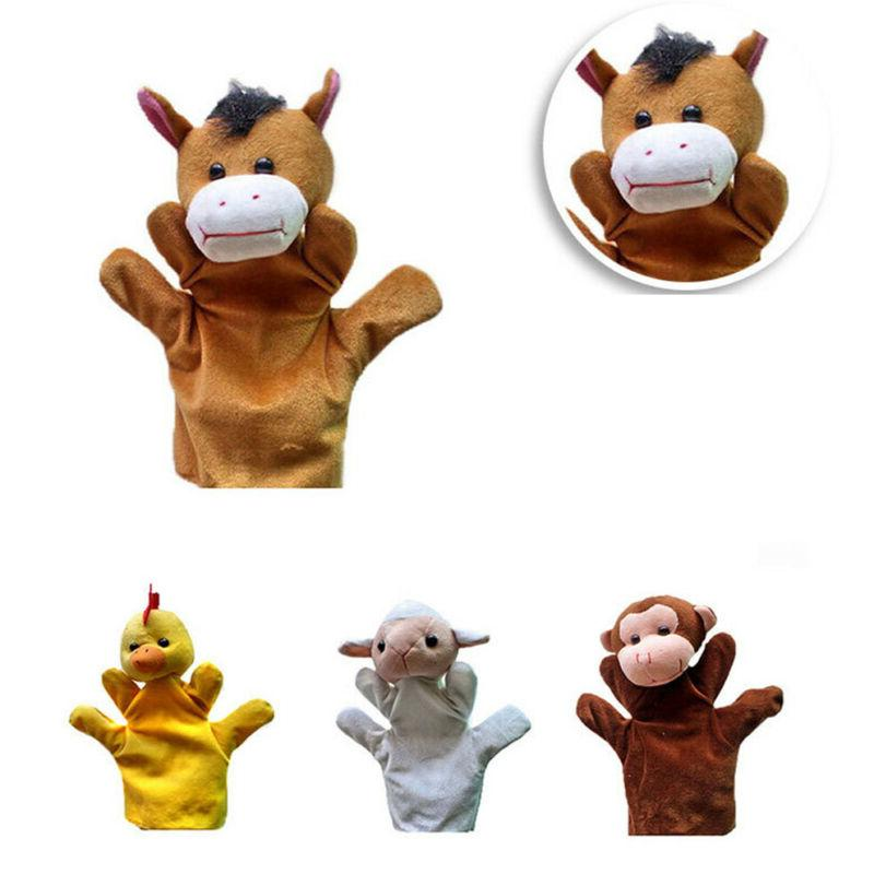 Animal Hand Puppets Toys