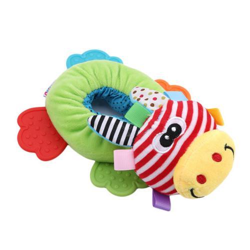 Animals Plush Sound Teether Toy