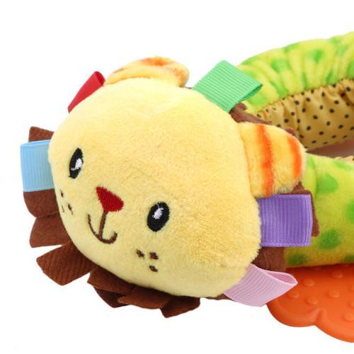 Animals Newborn Plush Teether Toy