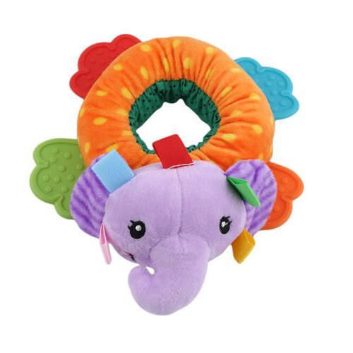 Animals Plush Toys Development Teether Rattle LD