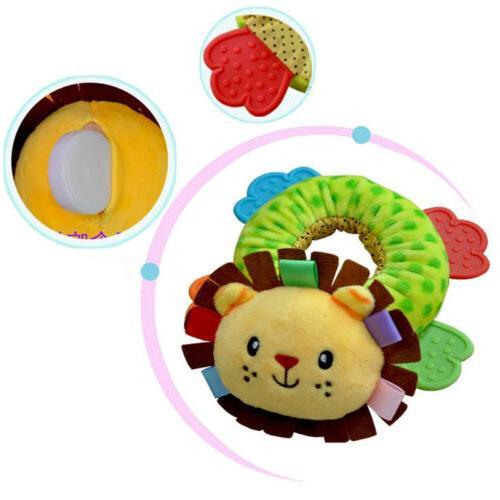 Animals Toys Plush Toys Teether Rattle Toy