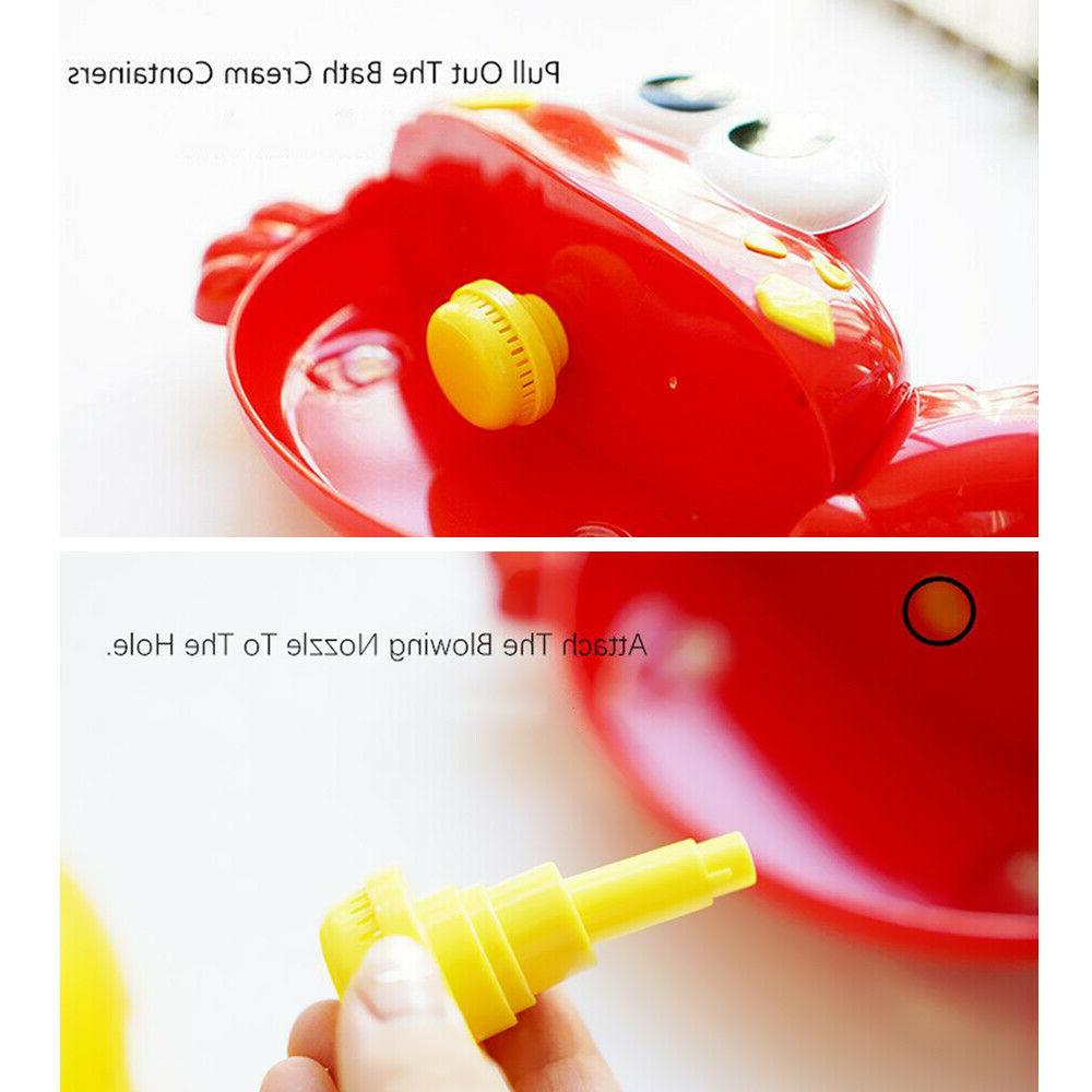 Automated Spout Crab Toys Water Baby Bath Bubble Maker