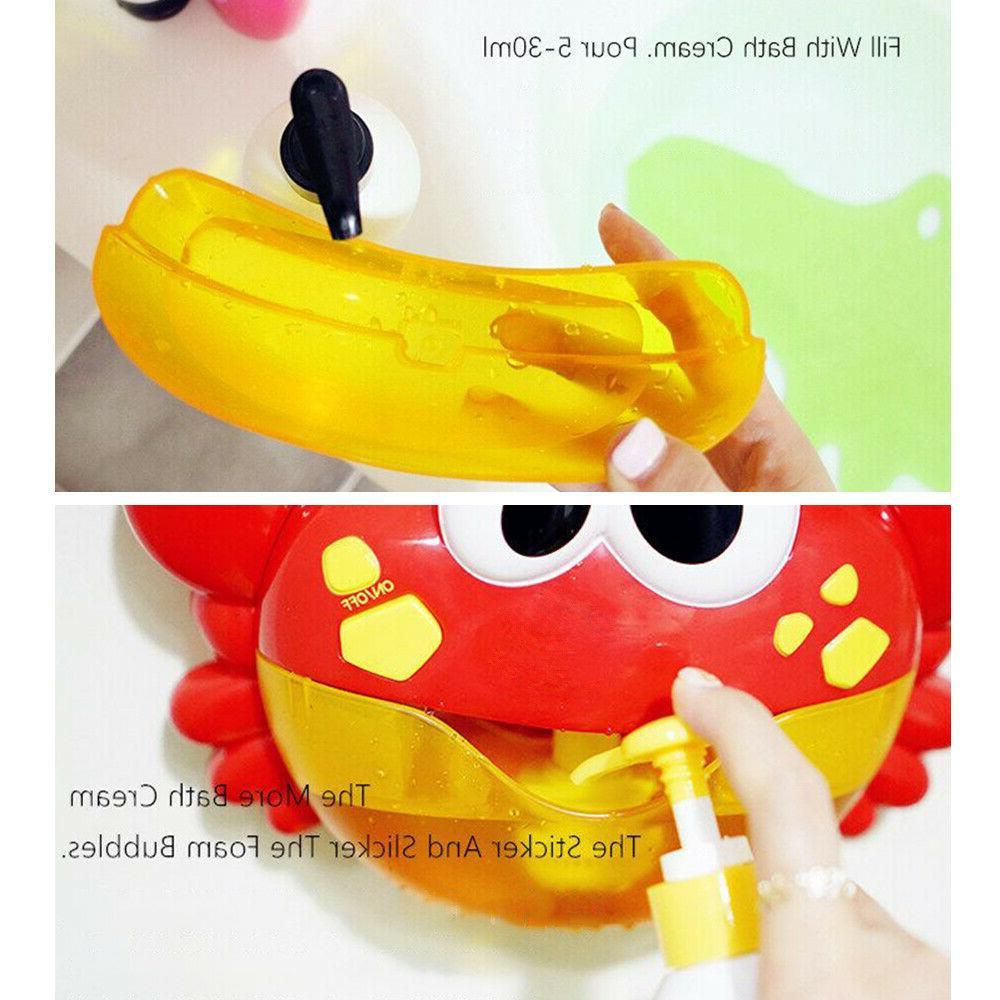 Automated Spout Bath Toys Cute Bubble Water Maker