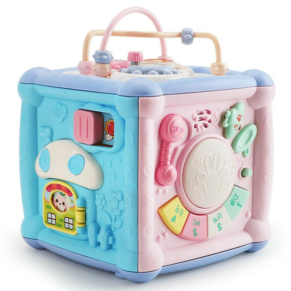 Baby Cube with Music Light