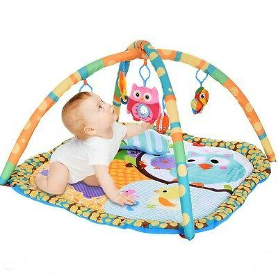 Baby Gym Learning Pad Tummy Floor Playing Toys
