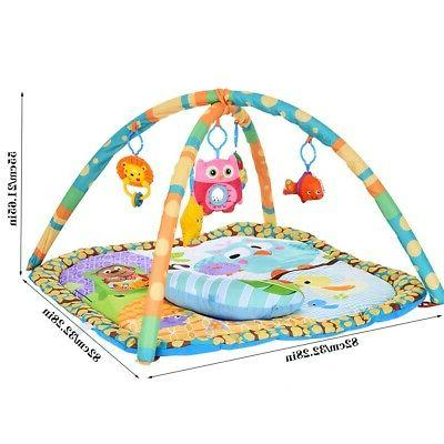 Pad Crib Floor Rug Playing Toys