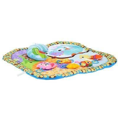 Baby Gym Learning Pad Infant Floor Rug Toys