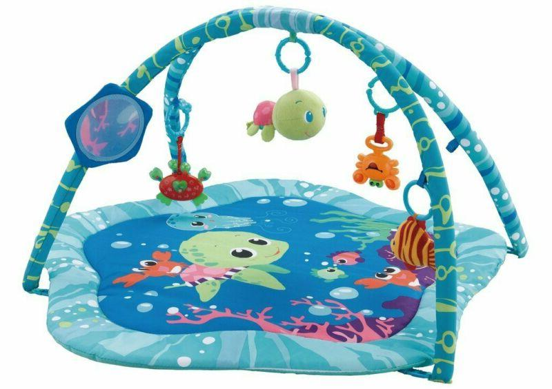 Baby Activity Play Gyms Playmats Open Size 30X30 Inch Love T