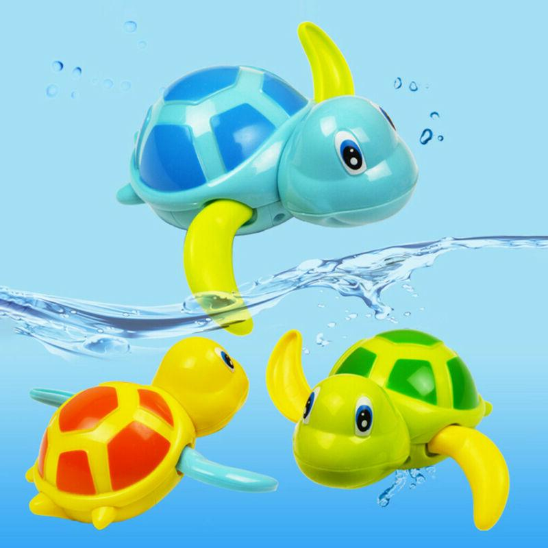 Baby Clockwork Turtle For Toddlers Girls Pool Toy