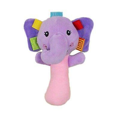 Baby Bell Stroller Hanging Rattle Cartoon Animal Gift
