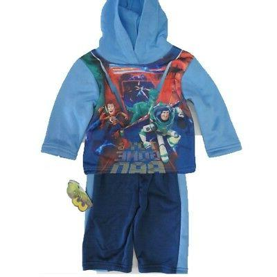 baby boys blue toy story character printed