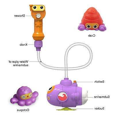 Baby Children Kids Toys Tub Bathroom Water toy US Stock