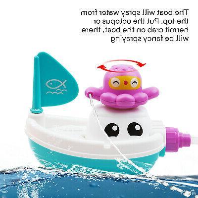 Baby Children Bath Water Stock