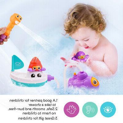 Baby Children Kids Toys Submarine Water spray Stock