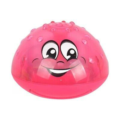 Baby Spray Squirt Bath Toy Kid LED Up Bathtub Toys