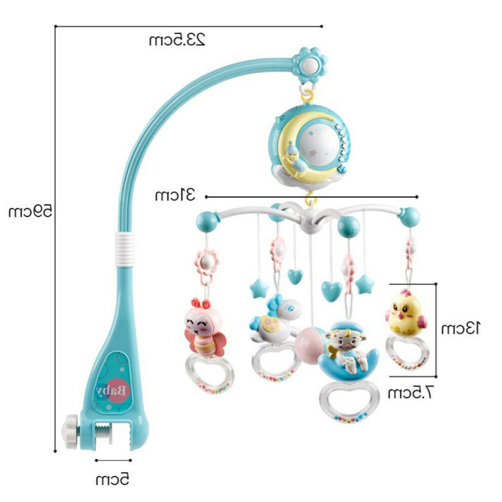 Baby Crib Music Light Toy