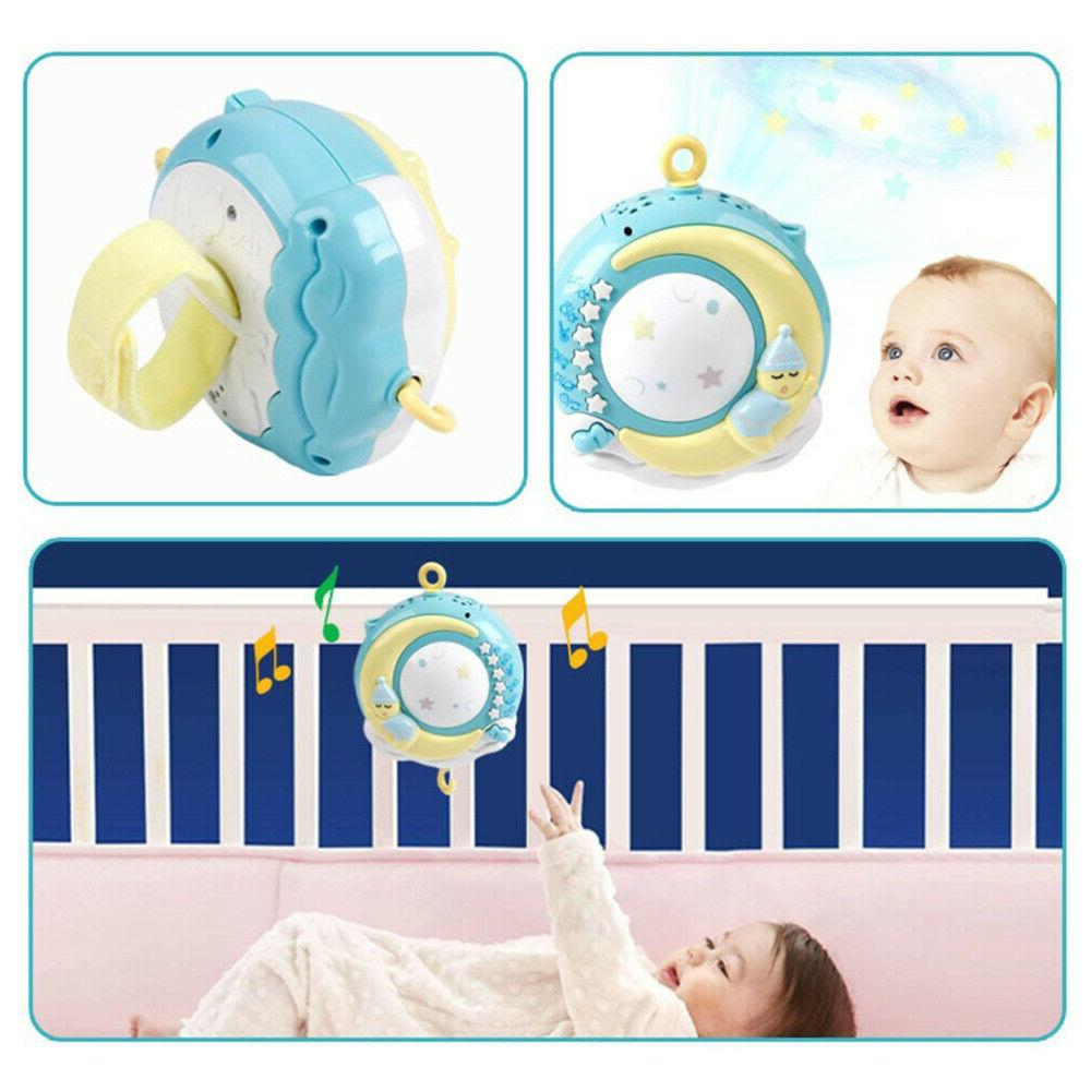 Baby Musical Bed Bell With Music Night Toy