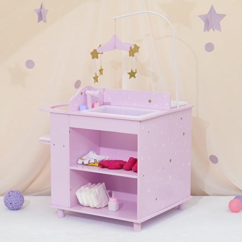 """Olivia's - Twinkle Princess 16"""" Station Purple"""