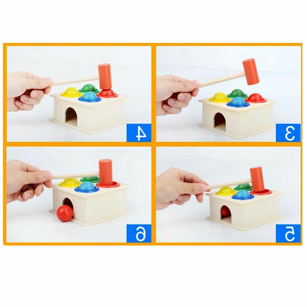 Baby Hammering Hammer Box Learning Educational
