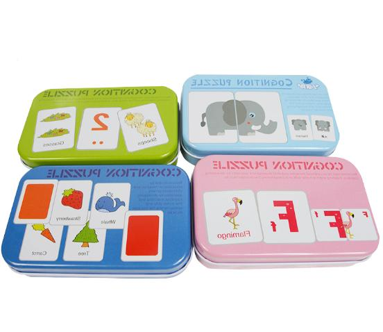 Baby Kid Learn English Montessori Cognitive Card