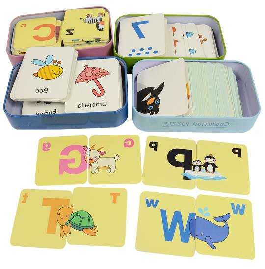 baby kid educational toys learn english puzzle