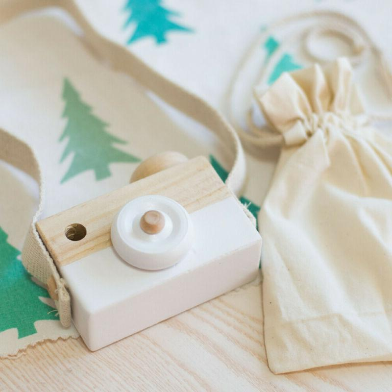 baby kids cute wood camera toys accessory