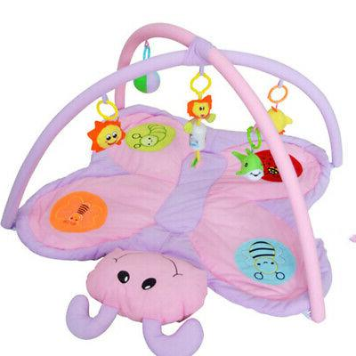 Baby Play Mat with Rattles Toys Butterfly