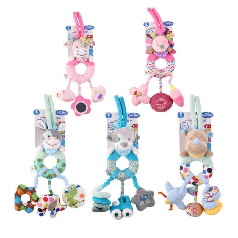 baby plush toy bed stroller hanging ring