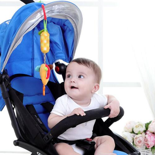 Baby Pushchair Stroller Car Toys Cot Crib Infant Hanging Rattle