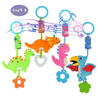 Baby Rattle Toys Stroller Car Seat Crib Hanging Teether Cute