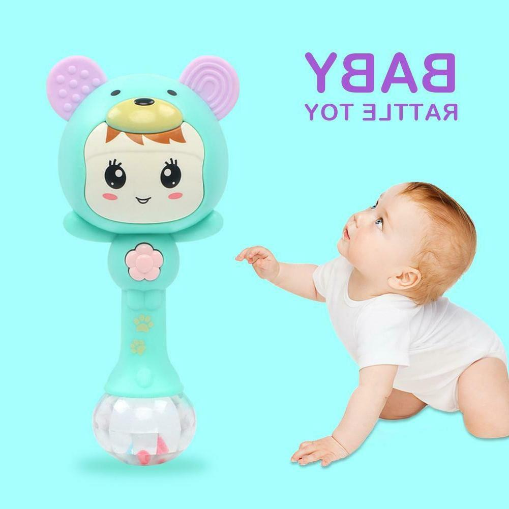 Baby Rattles Doll Toy Bell Learning Toys 0-12 Months SS