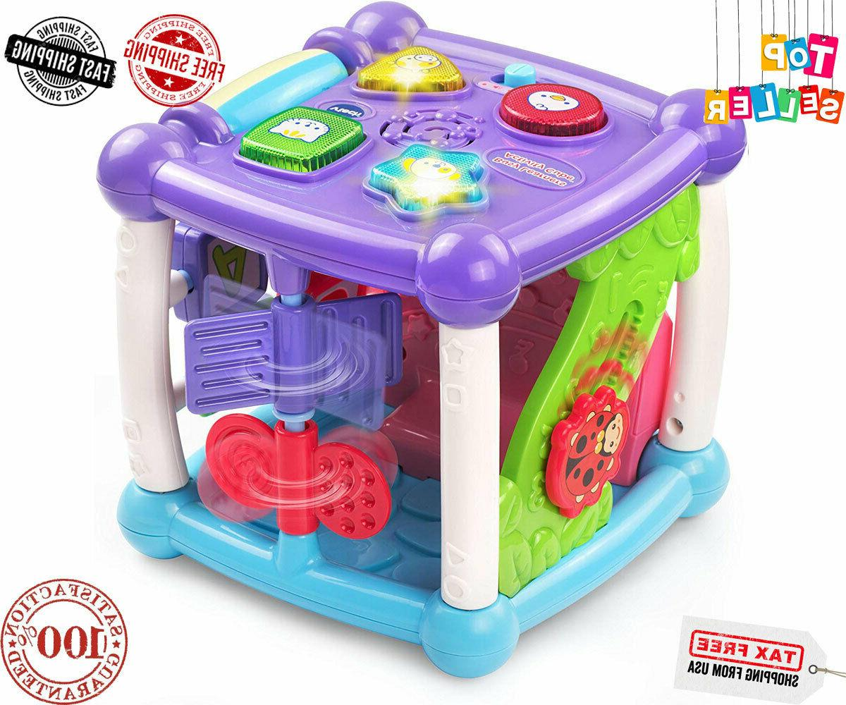 Baby's Busy Cube, Purple