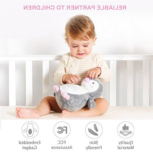 Baby Shusher White Sound Machine with 40 Soother Animal