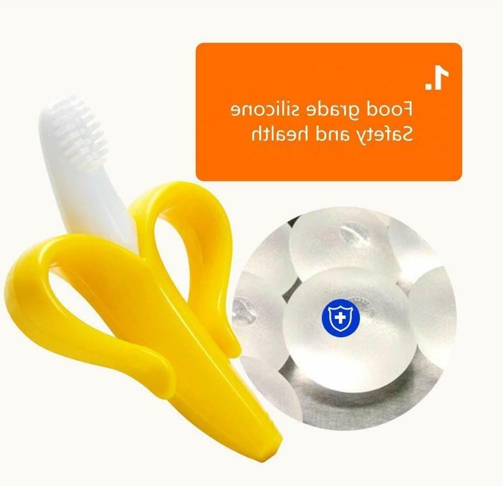 Baby Teether & Brush Healthy Fun chill Toy