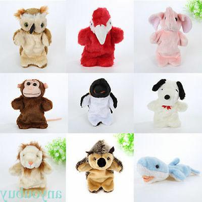 baby toys cartoon animal puppet kids plush