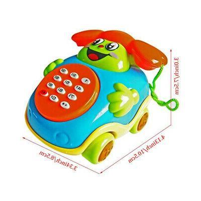Baby Cartoon Phone Educational Developmental Toy Gift