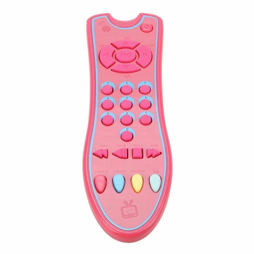 Baby toys phone tv remote early educational