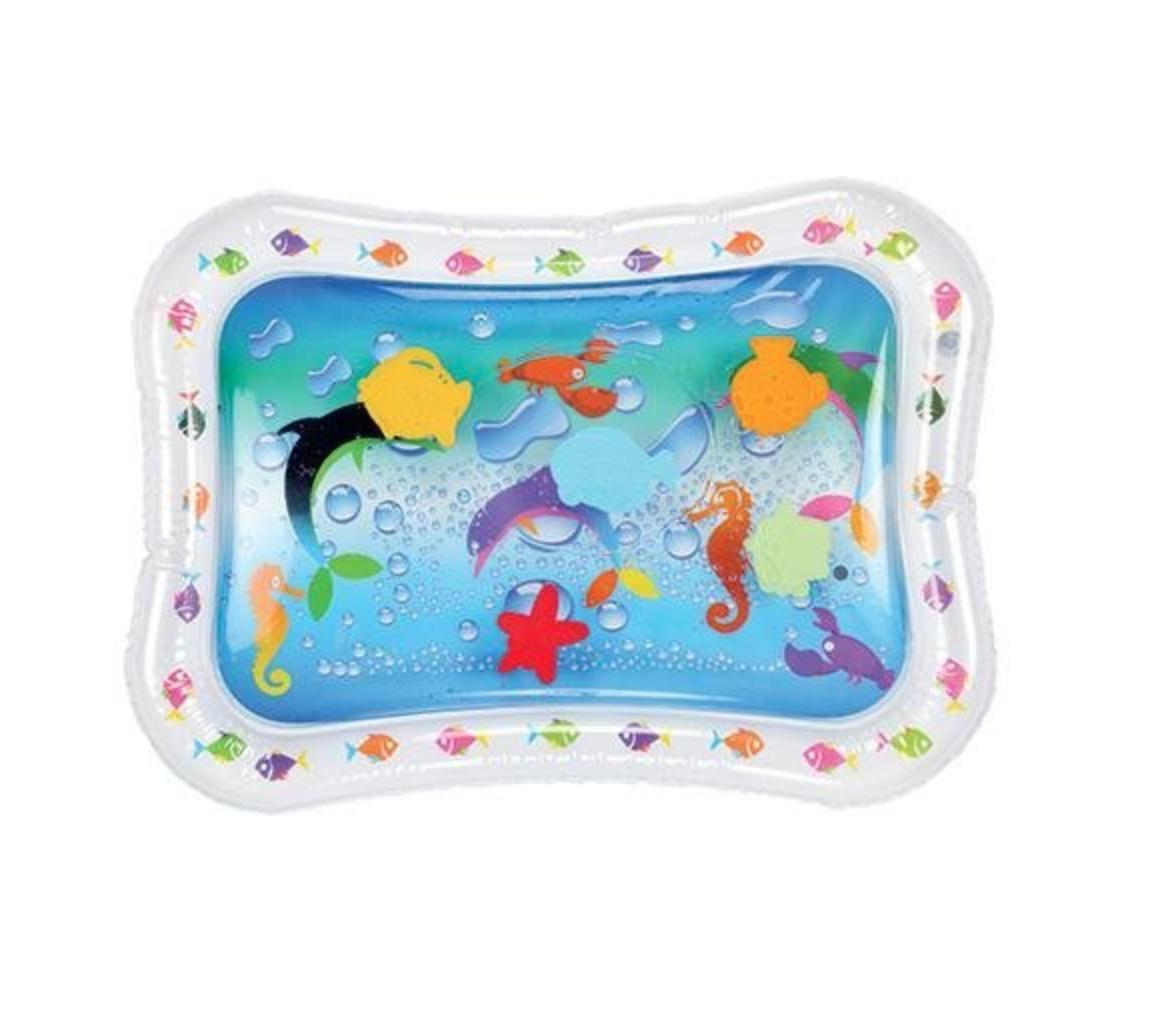 baby water play mat tummy time inflatable