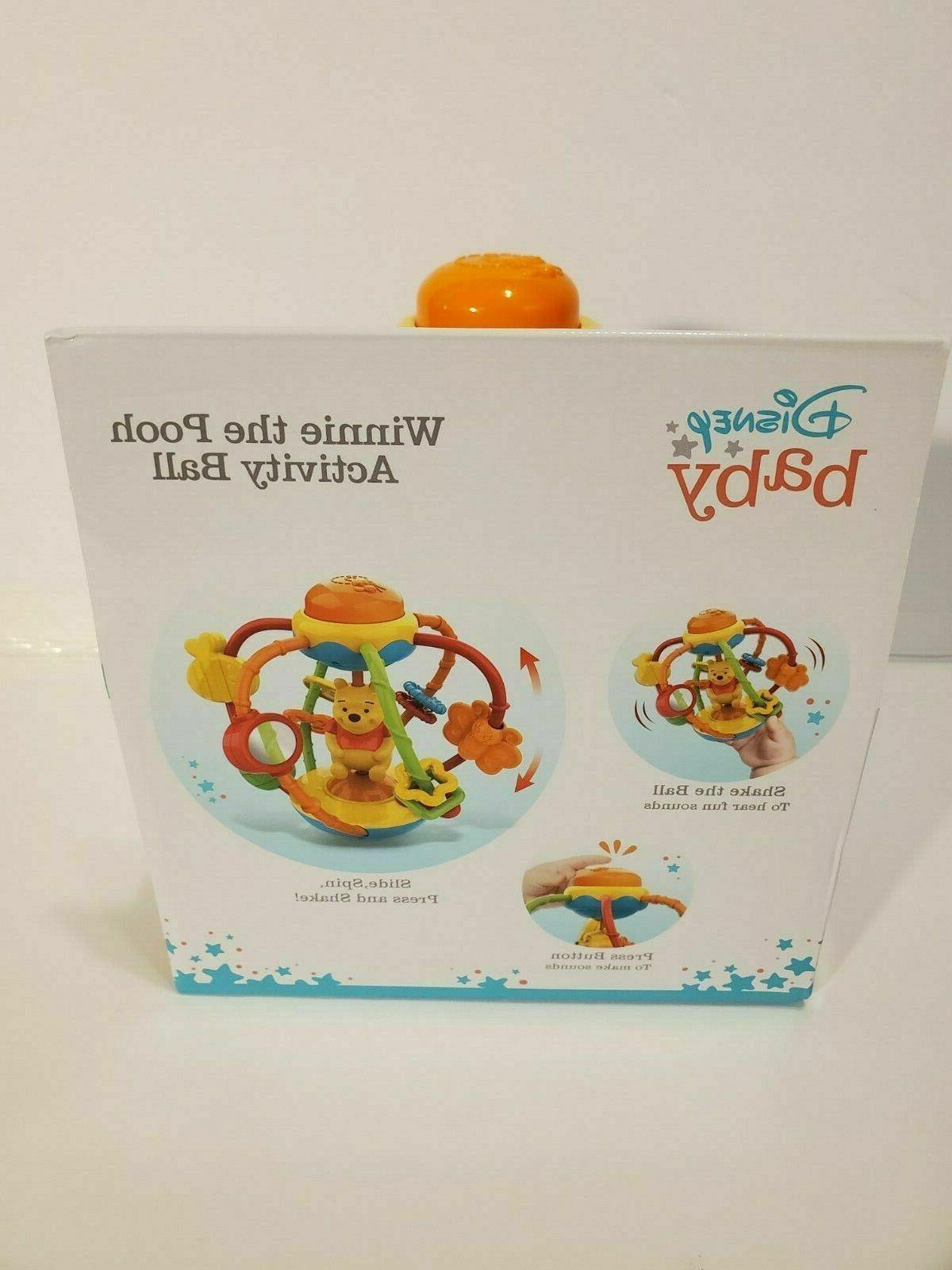 Disney Baby Pooh Month + Fun Toy ~New