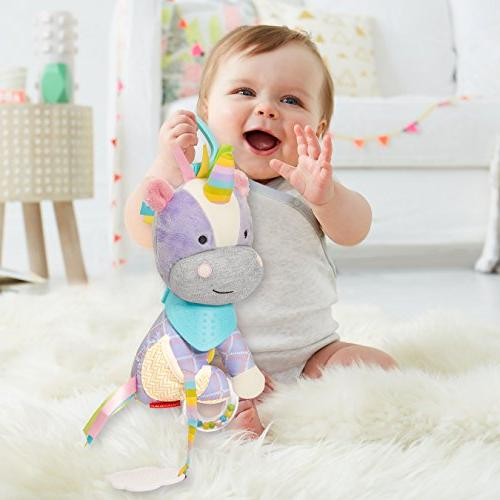 Skip Baby Activity and Teething Toy with and Textures,