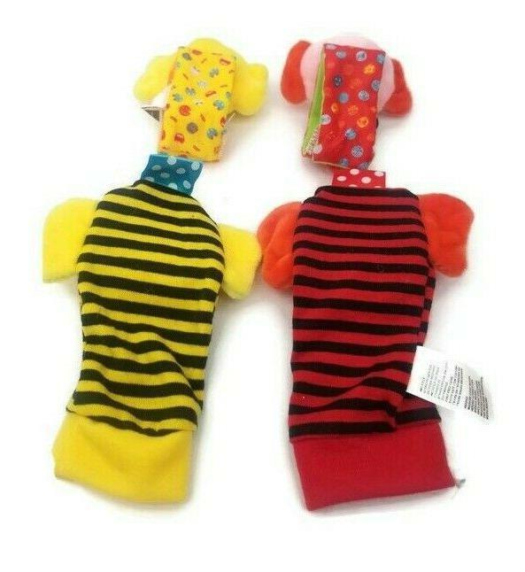 Ladybug Infant Wrist Toys 4pcs