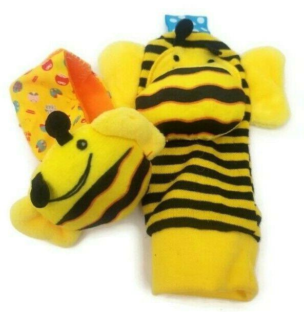Skk Ladybug Infant Wrist & Toys 4pcs